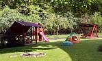 Chalupa Vyhne - záhrada, detské ihrisko, ohnisko, hojdačka