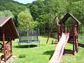 Chalupa Vyhne - detské ihrisko